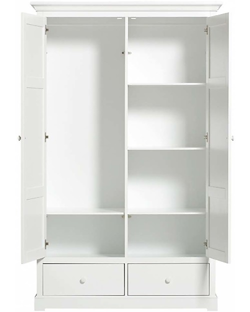 Armadio A Due Ante Bianco.Oliver Furniture Wardrobe With 2 Doors The Ideal