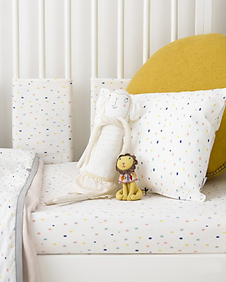 Olli Ella Budoir Pillow, Confetti – 100% Organic Cotton Pillows