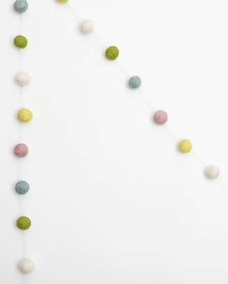 Olli Ella Gumdrop Garland, Multi-coloured – Handmade! Bunting