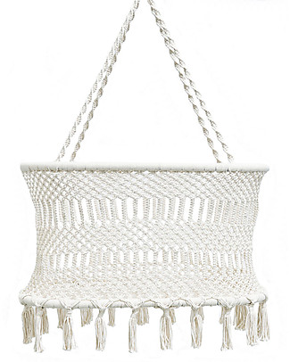 Olli Ella Macrame Bassinet - Handmade According to the South American Tradition Cribs & Moses Baskets
