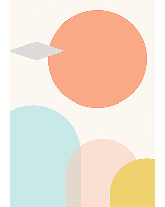 Olli Ella Nursery Wall Art, Alma – A3 size Posters