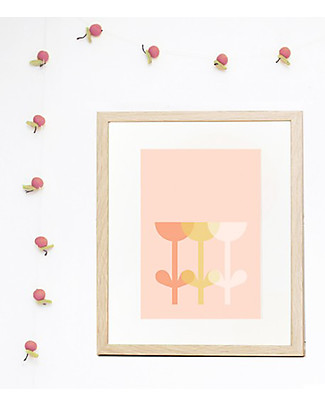 Olli Ella Nursery Wall Art, Tula – A4 size Posters