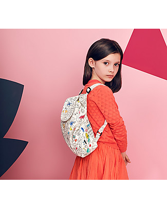 Omy Colouring Back Pack - 100% cotton Small Backpacks