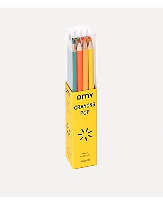 Omy Pop Pencils - Set of 16 Colouring Activities