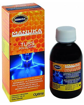 Optima Naturals Manuka Benefit Tuss Mixture, 140 ml - For the Cough Natural Remedies