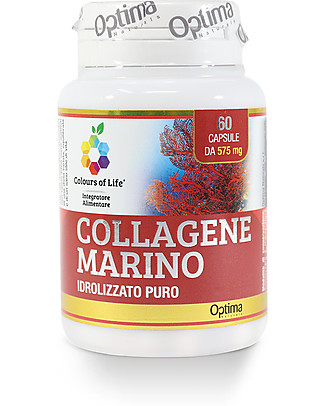 Optima Naturals Marine Hydrolysed  Collagen, 60 tablets - Reduces aging signs Food Supplement