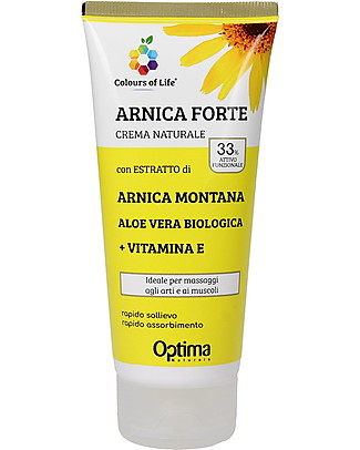 Optima Naturals Natural Eudermic Cream Arnica, 100 ml - for Massages to Muscles Body Lotions And Oils