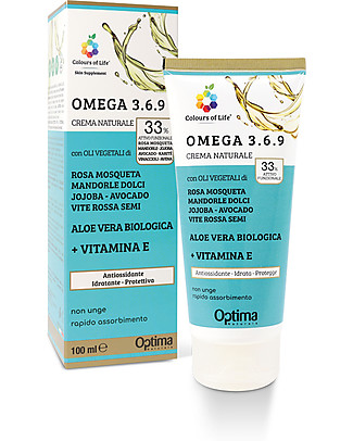Optima Naturals Natural Eudermic Cream Omega 3.6.9, 100 ml - Moisturize and Protect Body Lotions And Oils