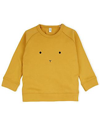 Organic Zoo Bunny Sweatshirt, Mustard  - 100% Organic Cotton Sweatshirts