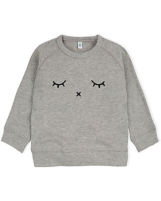 Organic Zoo Sleepy Sweatshirt, Grey - 100% Organic Cotton Sweatshirts