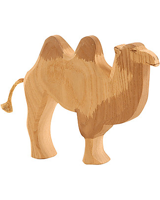 Ostheimer Camel, Hand-crafted, Sustainable Wood - 13.5 cm (H) Wooden Blocks & Construction Sets