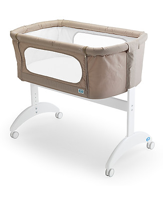 Pali Co-Sleeping Cot Maya, Sand - 0-6 months, solid beech wood Baby Slings