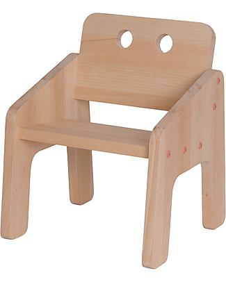 Paulette & Sacha Baby Chair Mini Boudoir, Aurora - Solid beech wood  Chairs
