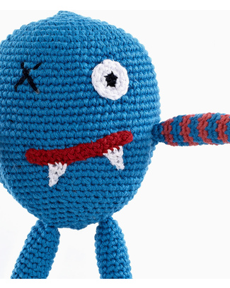 Pebble Chubby Monster Rattle - Scary Rattles