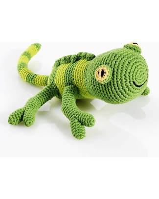 Pebble Crocheted Bangladesh Gecko Toy - Fair Trade - 32 cm long null