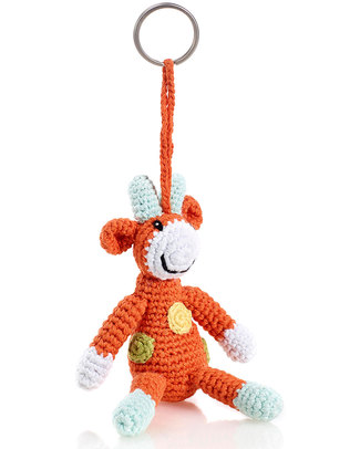 Pebble Crocheted Keyring - Giraffe Key Rings