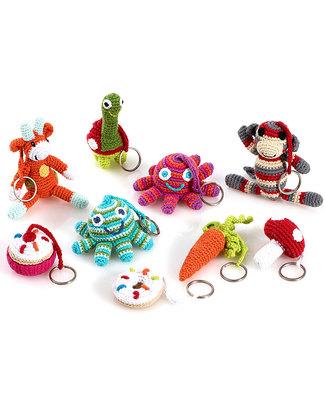 Pebble Crocheted Keyring - Ice Cream Key Rings