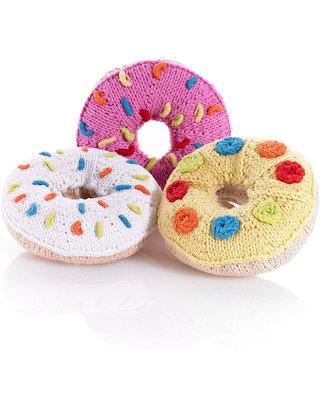 Pebble Doughnut Rattle - Yellow Rattles