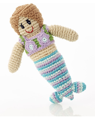 Pebble Mermaid Rattle - Fair Trade Rattles