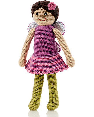 Pebble Once Upon a Time, Mulberry Fairy - 30 cm - Fair Trade Puppets