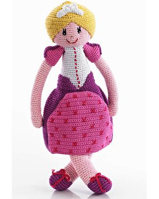 Pebble Once Upon a Time Princess Toy - Fairtrade - 35 cm tall Soft Toys