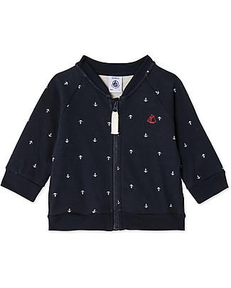 Petit Bateau Anchor Sweater, Navy Sweatshirts