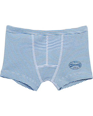 Petit Bateau Boy's Striped Boxers – 100% Cotton Briefs
