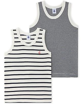 6 X Childrens Boys Vest 100/% Soft Cotton White Sleeveless Underwear Vest 5 Years to 6 Years, Black