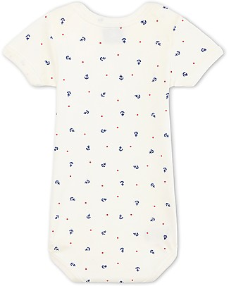 Petit Bateau Short-Sleeved Bodysuits - 100% Cotton Short Sleeves Bodies