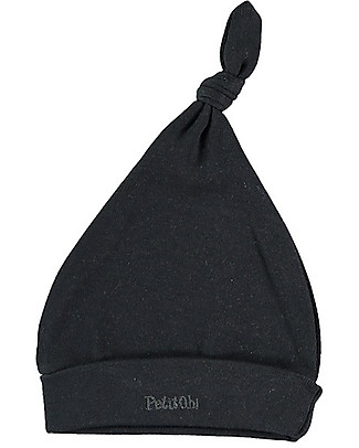 Petit Oh! Baby Bruc Hat with Knot, Iron - Pima Cotton Hats