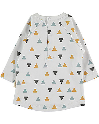 Petit Oh! Kiwi Long Sleeves T-Shirt, Pinos Mix Ice - Pima Cotton Long Sleeves Tops