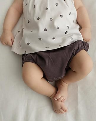 Petit Oh! Nappy Cover, Braguita, Grafite - 100% Pima Cotton Shorts