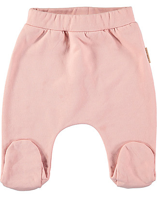 Petit Oh! Nilo Footed Pant, Rose - Cotton Flannel Trousers