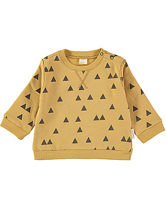 Petit Oh! Nina SweatShirt, Pinos Ambar - 100% Cotton Flannel Sweatshirts