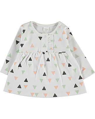 Petit Oh! Yama Tee with Long Sleeves, Pinos Mix Rose - Pima Cotton Evening Tops