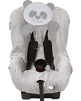 Picci Bo-Bo Car Seat Cover Group 1, Grey - 100% cotton terry Car Seat Accessories