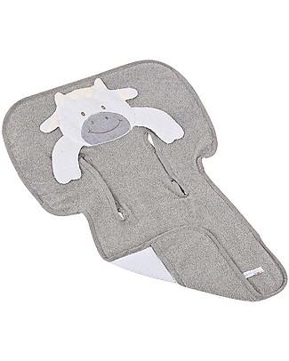 Picci Bo-Bo Reversible Stroller Cover, Lo-La - 100% cotton, terry + honeycomb Stroller Accessories