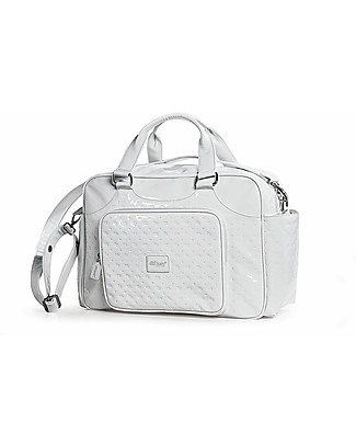 Picci Candy Dili Best Varnished Mummy Bag, White - 43 x 31 x 17 cm Diaper Changing Bags & Accessories