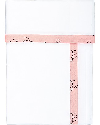 Picci Coordinated Bed Linens Liberty, Pink - Pillowcase, Sheet and Fitted Sheet Bed Sheets