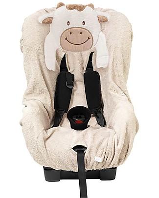 Picci Lo-La Car Seat Cover Group 1, Off-White - 100% cotton terry Car Seat Accessories