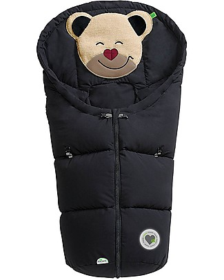 Picci Mucki Small with Clips, Black - Universal footmuff for car seat and carrycot Footmuffs