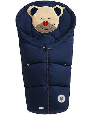 Picci Mucki Small with Clips, Blue - Universal footmuff for car seat and carrycot Footmuffs