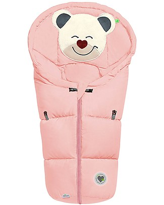 Picci Mucki Small with Clips, Powder Pink - Universal footmuff for car seat and carrycot Footmuffs