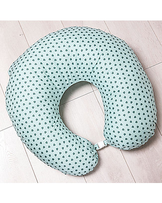 Picci Nina Breastfeeding Pillow, Aqua - 75 x 75 cm, removable cover Feeding & Support Pillows