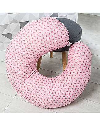 Picci Nina Breastfeeding Pillow, Pink - 75 x 75 cm, removable cover Feeding & Support Pillows
