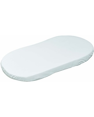 Picci Oval Crib Mattress, 40x78 cm - 100% Cotton Stroller Accessories