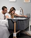 Picci You&Me, Co-Sleeping Cot / Crib - Grey - Mattress + Sheet + Mobile included! Co-Sleeping Cribs