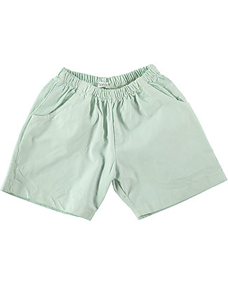 Picnik Bermudas Mint Green, La vie en - 100% cotton Shorts