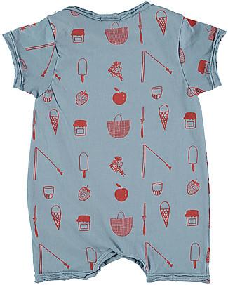 Picnik Body Short, Picnic - 100% cotton, Unisex Short Sleeves Bodies