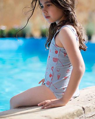 Picnik Girl Onepiece Swimwear, Blue/Picnik Swimsuits